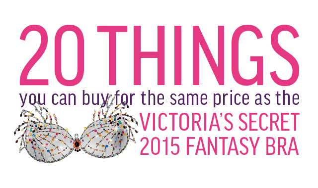 20 Things You Can Buy For The Same Price As The Victoria's Secret Fantasy Bra