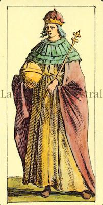Tarot de Mitelli: La Emperatriz