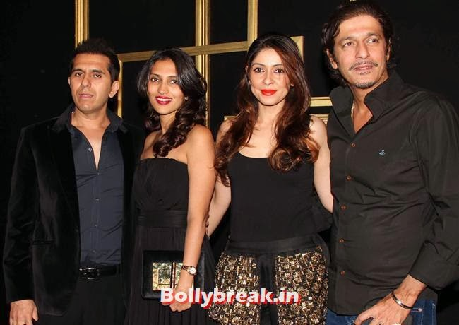 Chunky Pandey, All Bollywood Celebs at Deepika Padukone Golden Party