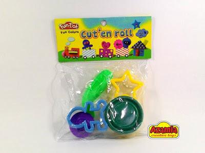 Fun-Doh Cut'en And Roll, fun doh indonesia, fun doh surabaya, distributor fun doh surabaya, grosir fun doh surabaya, jual fun doh lengkap, mainan anak edukatif, mainan lilin fun doh