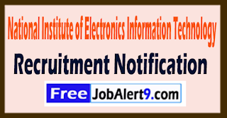 NIELIT National Institute of Electronics and Information Technology Recruitment Notification 2017 Last Date 21-08-2017