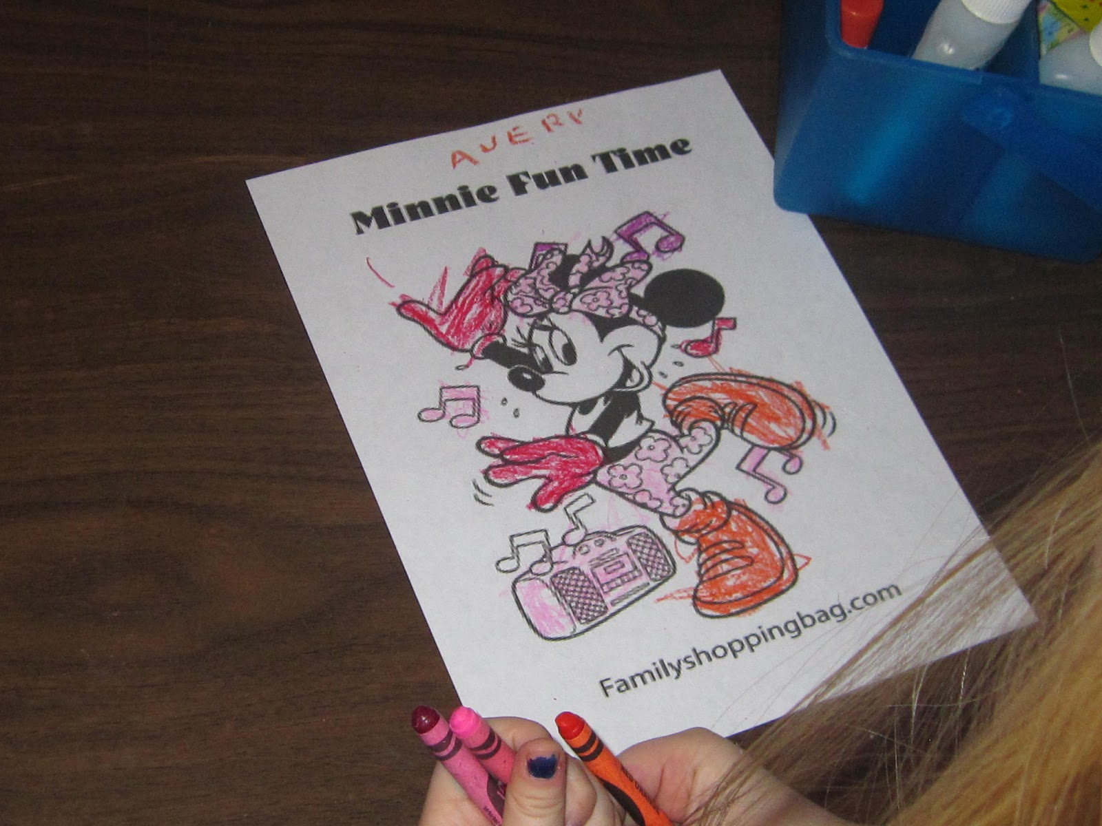 Preschool Mickey Mouse Magnets And Mittens