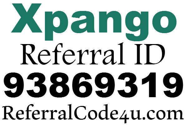 Xpango.com Referral ID 2016, Xpango Sign up Bonus, XPango Refer A Freind