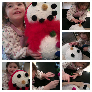 snowman finished