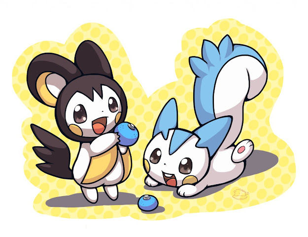 Pachirisu And Emolga Dont Forget To Like This Pokemon Facebook Page For  More