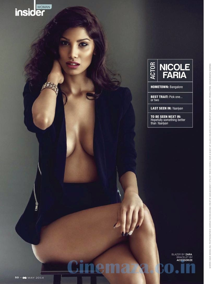 ,  Nicole Faria Hottest Bikini Pics - GQ India Magazine May Edition