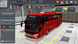 Template Livery Bus Simulator Indonesia (Bussid)