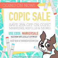 Shop Simon Says Stamp(MARKERSALE and get 25% off copic markers