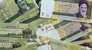 The regular currency is Iranian Rials, RLS, and the currency which people use informally is Toman. Each Toman is equal to 10 Rials. So, 1000 Tomans is equal to 10,000 Rials.
