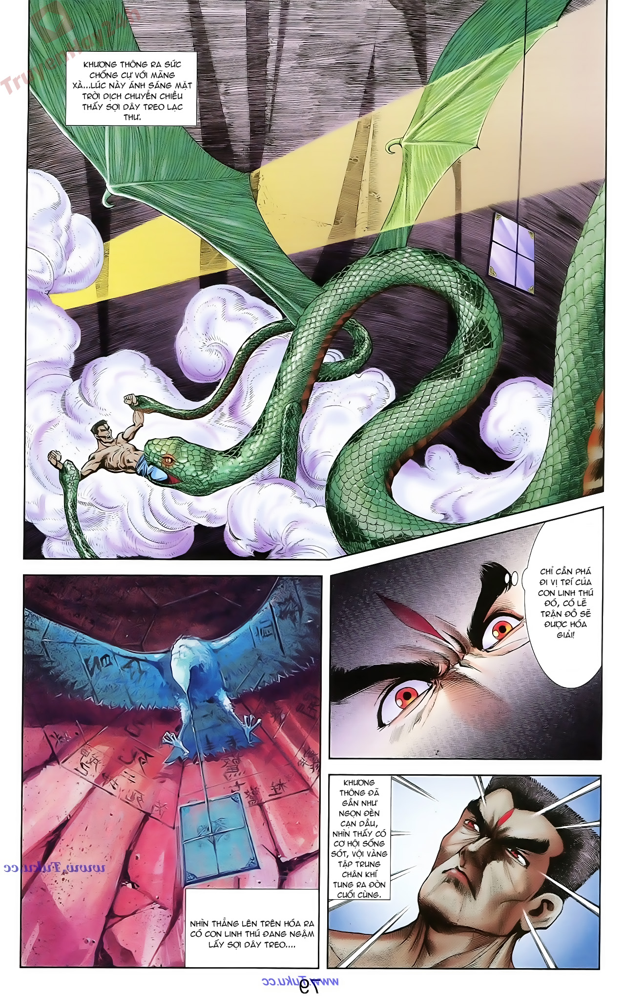 Cơ Phát Khai Chu Bản chapter 71 trang 7