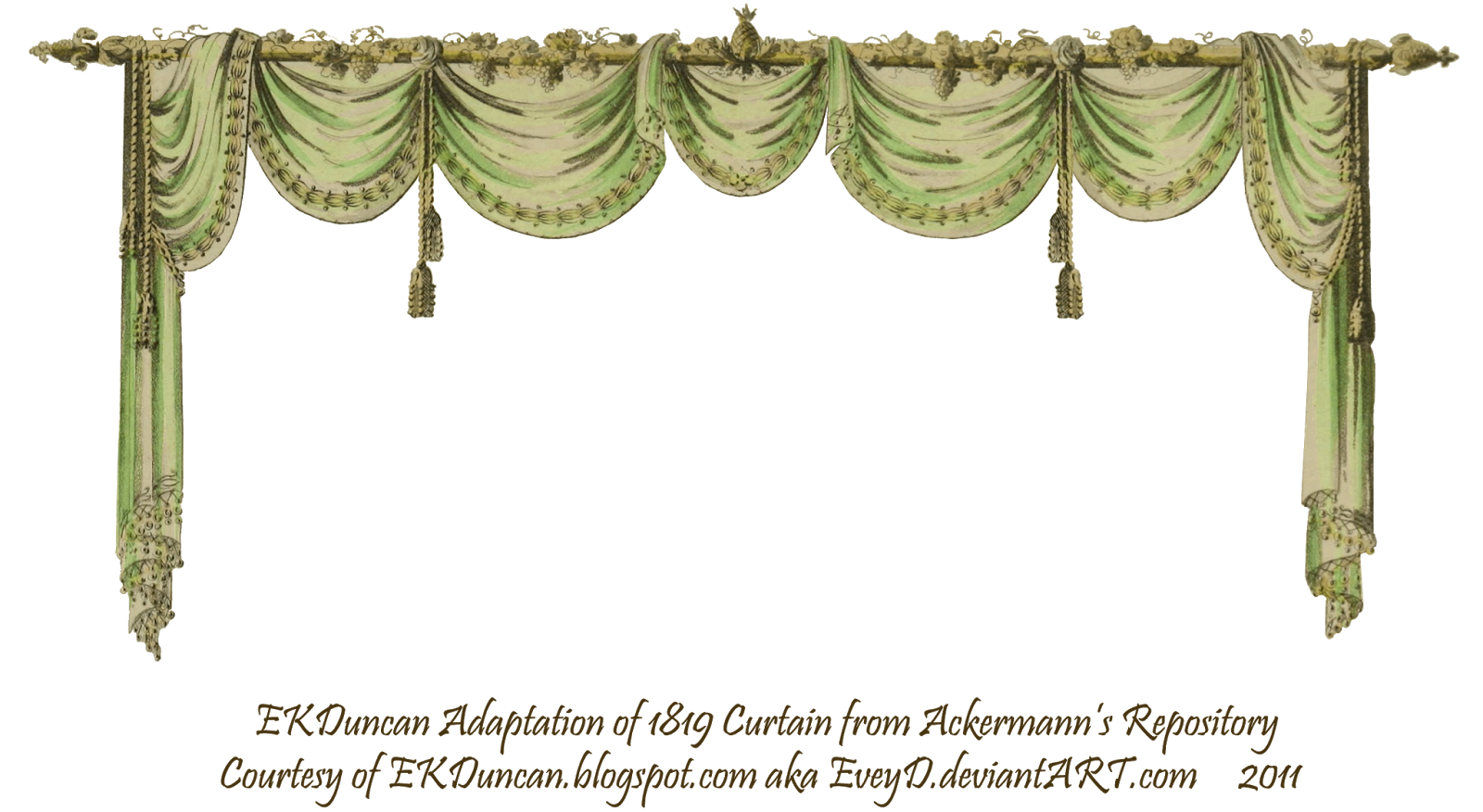 Ekduncan My Fanciful Muse Regency Ladies With A Curtain