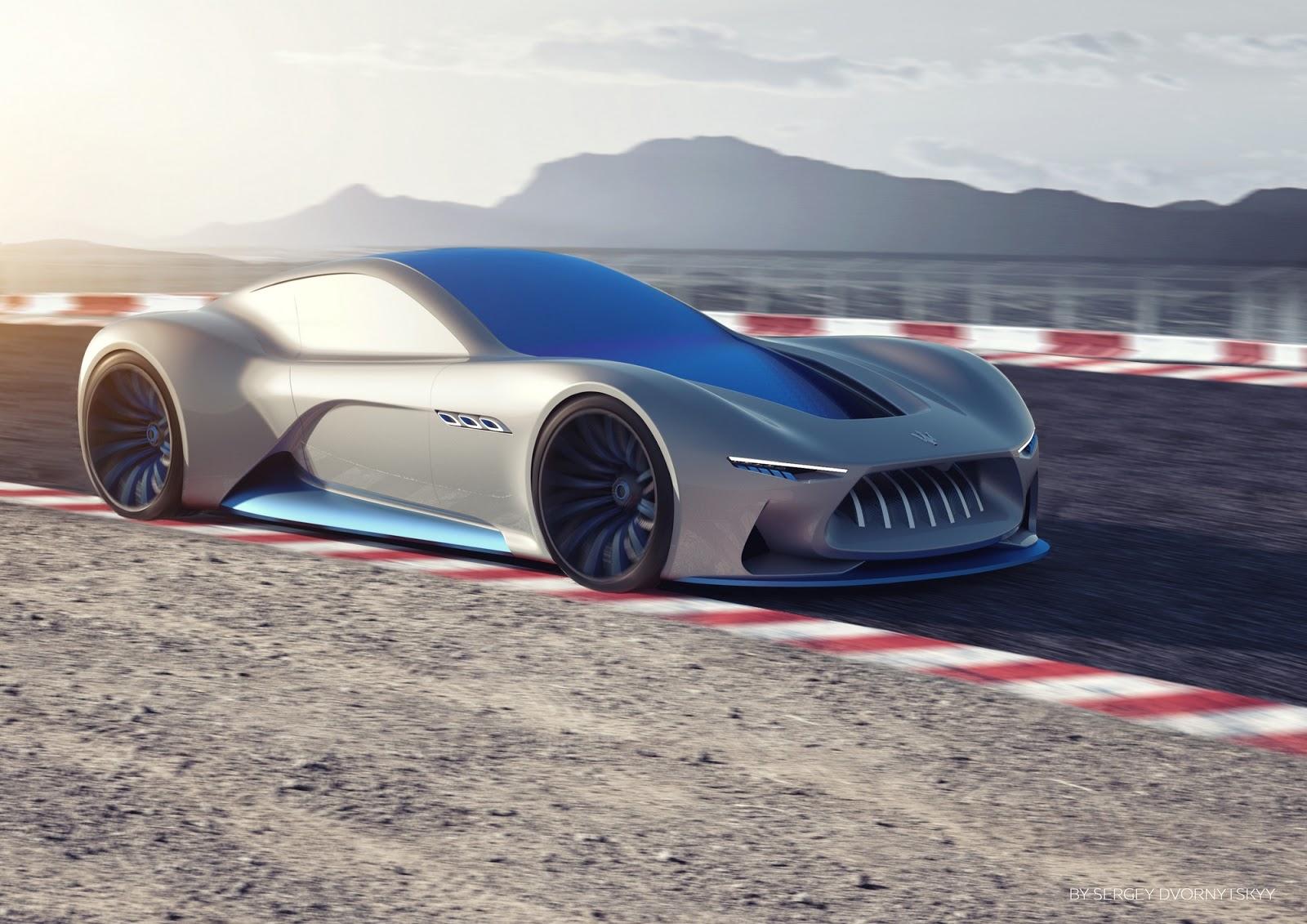 Maserati Genesi Concept Is A Stellar Dream Supercar