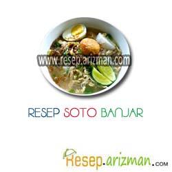 Resep Soto Banjar Masakan Indonesia