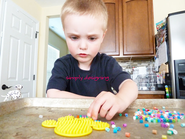 playing with perler beads Summer Fun with Perler Bead Necklaces and @JoAnn #summerofjoann #spon 8
