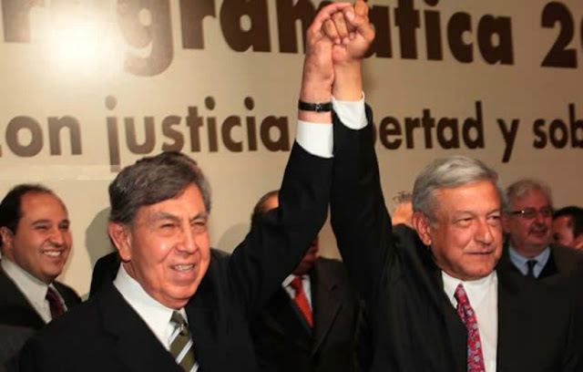 """México ya habló, AMLO será Presidente de México este 2018"":  Cuauhtémoc Cárdenas"