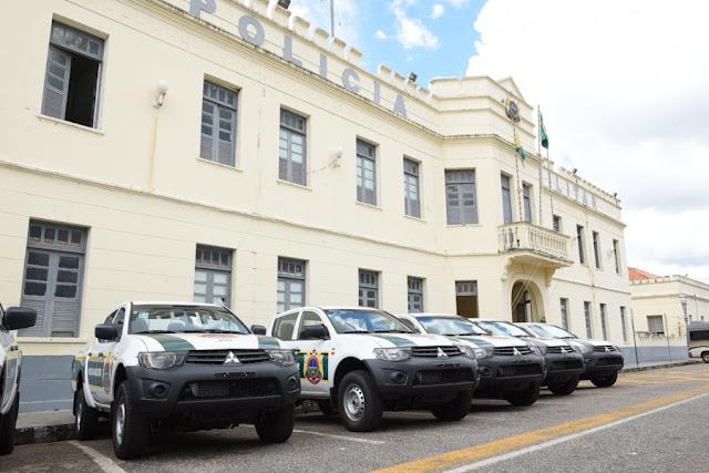 Governo do acre reforça Segurança Publica com mais 42 veículos e equipamentos para as polícias Civil e Militar