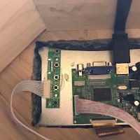 Control board installed