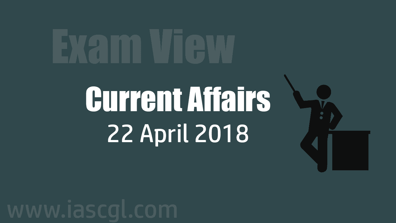 Current Affair 22 April 2018