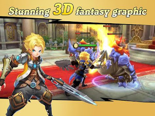 Download Final Clash 3D Fantasy v1.12.0 MMORPG APK MOD Terbaru 2017