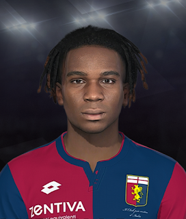 PES 2018 Faces Stéphane Omeonga by Prince Hamiz