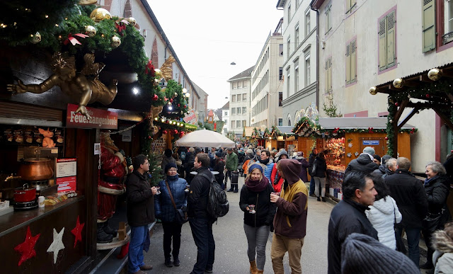 Basel Switzerland Travel Guide 72 Hours European City Break Christmas Market