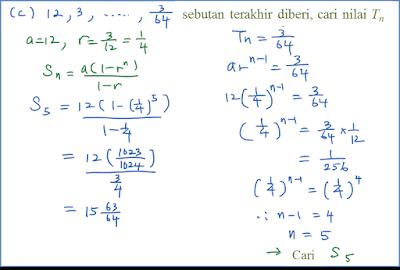 1.2.3 Hasil Tambah Suatu Janjang Geometri - Matematik