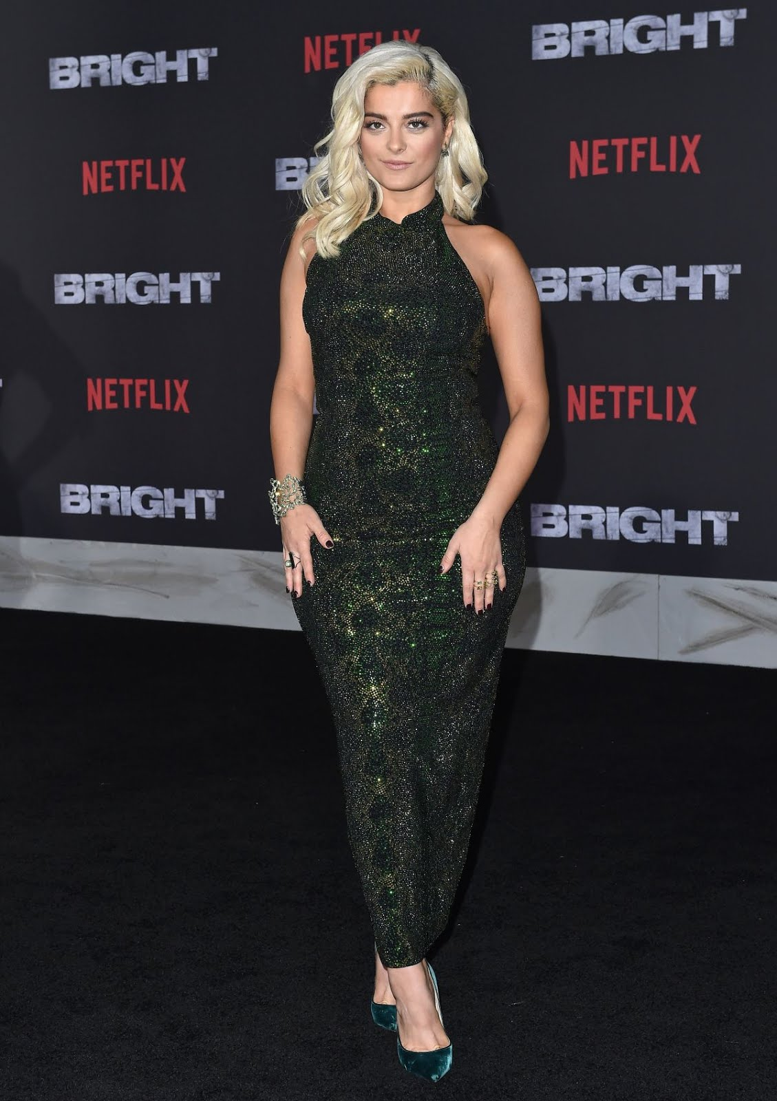 HD Wallpapers & Photos of Bebe Rexha at Bright Premiere in Los Angeles
