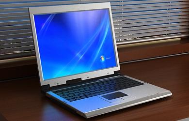 laptop 3d model free