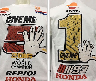Kaos Baju Distro MotoGP World Champion 2016