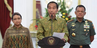Dengan Tegas Presiden Larang TNI/POLRI Sweeping Atribut PKI  - Naon WAE News