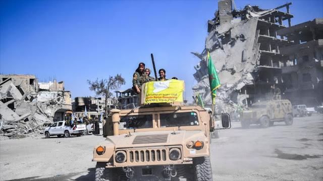 Ciudadanos de EEUU y Europa combaten a fuerzas turcas en Siria