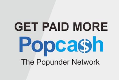 Pengahsilan blogger dari Iklan Pop Up