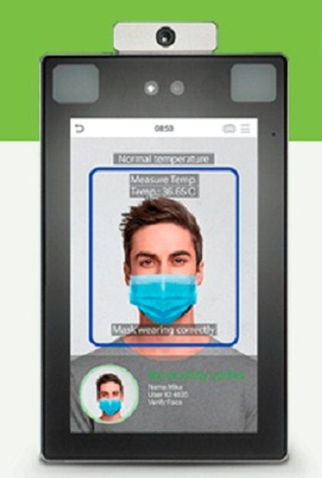 Innovación biométrica logra reducir contagio del virus