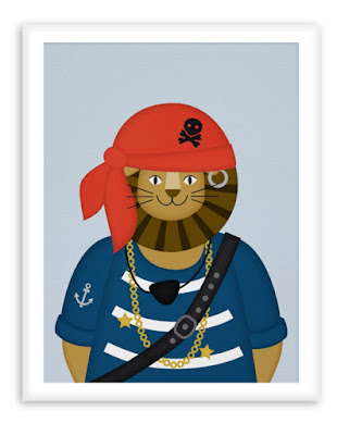 Poster Pirate Lion