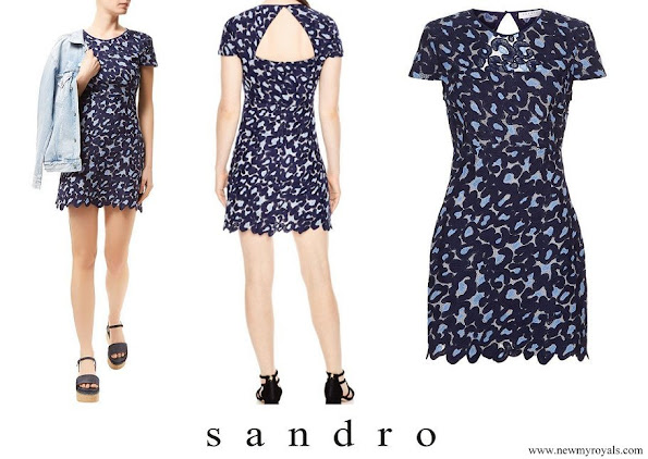 Princess Ariane Sandro Marine Leo Dress