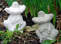 ComposiMold Plaster of Paris Casting of frogs for a garden
