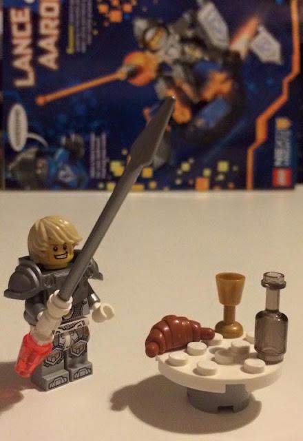 LEGO NEXO KNIGHTS Lance minifigure