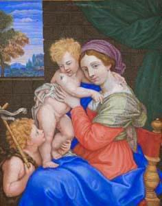 Madonna Con Bambino E San Giovannino, Teresa Del Po