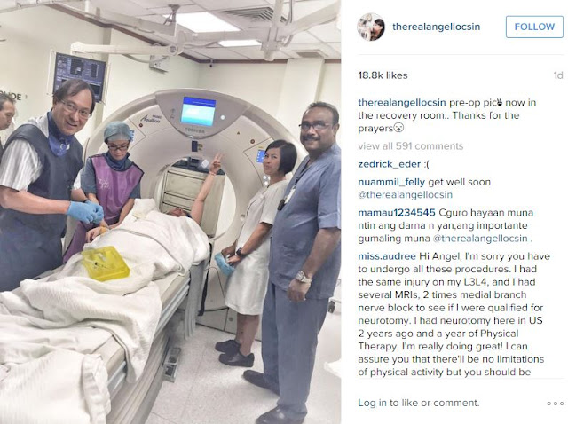 Was Angel Locsin's neck operation a success? Find out here!