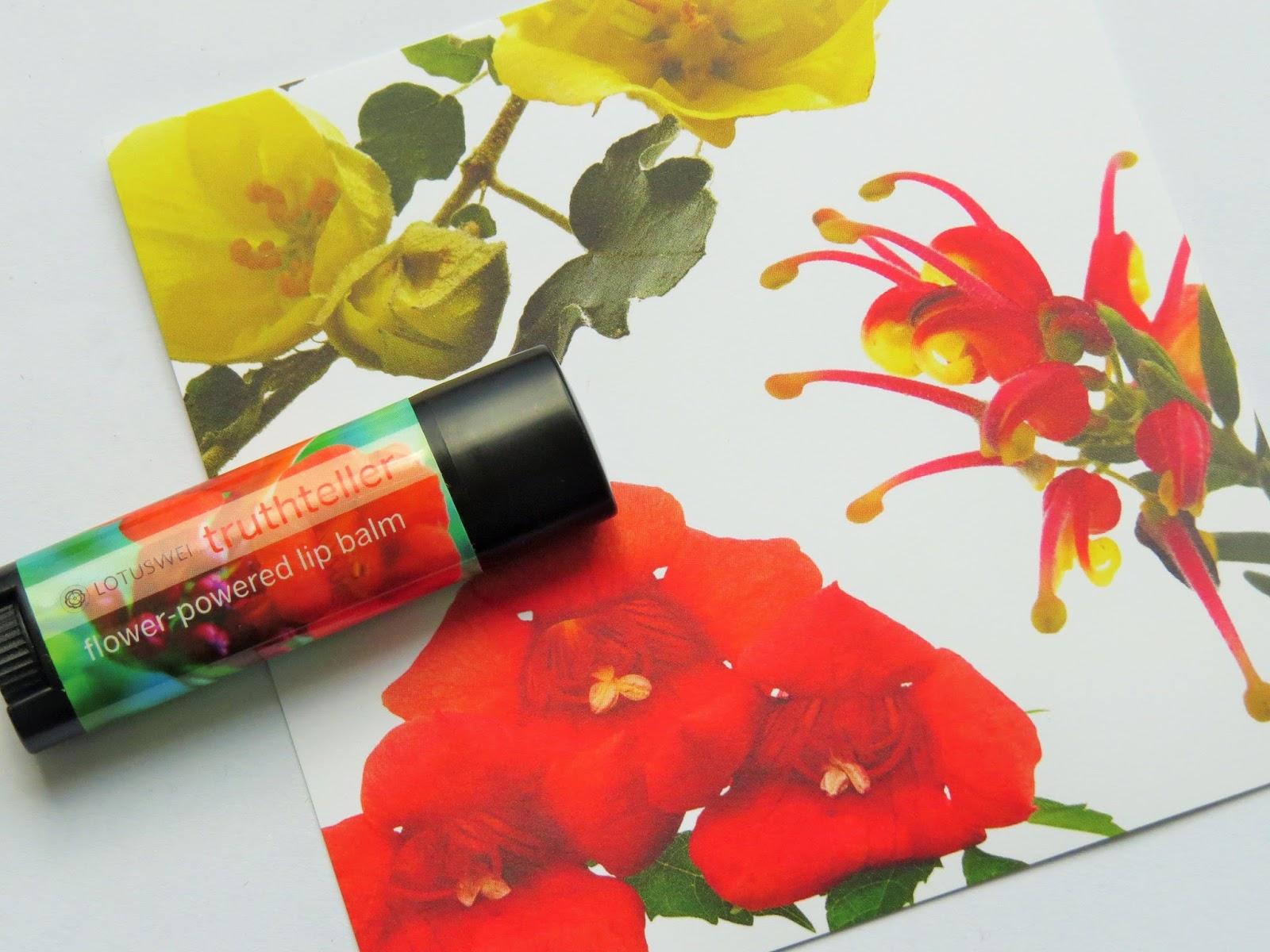 Lotus Wei Truth Teller Flower Powered Lip Balm Beauty Balm