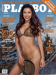 Revista Playboy Eslovenia - Mayo 2017 PDF Digital
