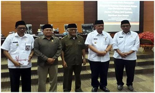 DPRD Sumbar Gelar Rapat Paripurna Tentang Perubahan Peraturan Daerah Nomor 1 Tahun 2011