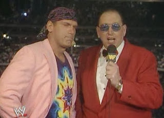 WWF / WWE: Wrestlemania 6 - Jesse Ventura and Gorilla Monsoon welcomed us to the show