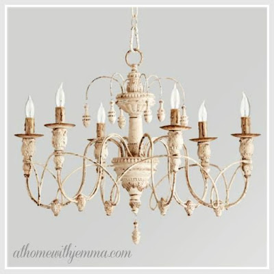 lighting for our home, french country, shabby chic, design