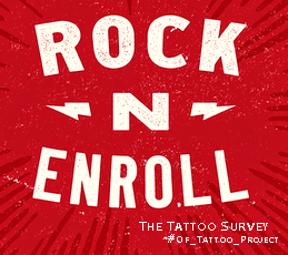 The Tattoo Survey // Rock n Enrol via #hshdsh by @kingDevil with @OtinFlewer // https://blogs4bytes.typeform.com/to/XsbLEl