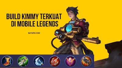 Daftar Item Kimmy Paling Sakit di Mobile Legends