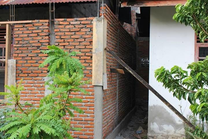 Image result for dinding mepet dengan rumah tetangga
