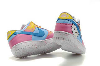 quality design 8db3e 403c8 air force one hello kitty