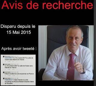 Tweets sur l'islam-Disparition de Robert Chardon, Maire UMP : Allo, les journalistes ? dans France avis%2Bde%2Brecherche%2Bump%2Bislam