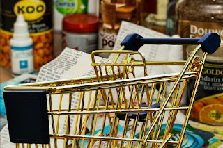 Shopping cart in grocery store.jpeg